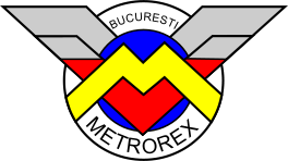 English: Metrorex logo