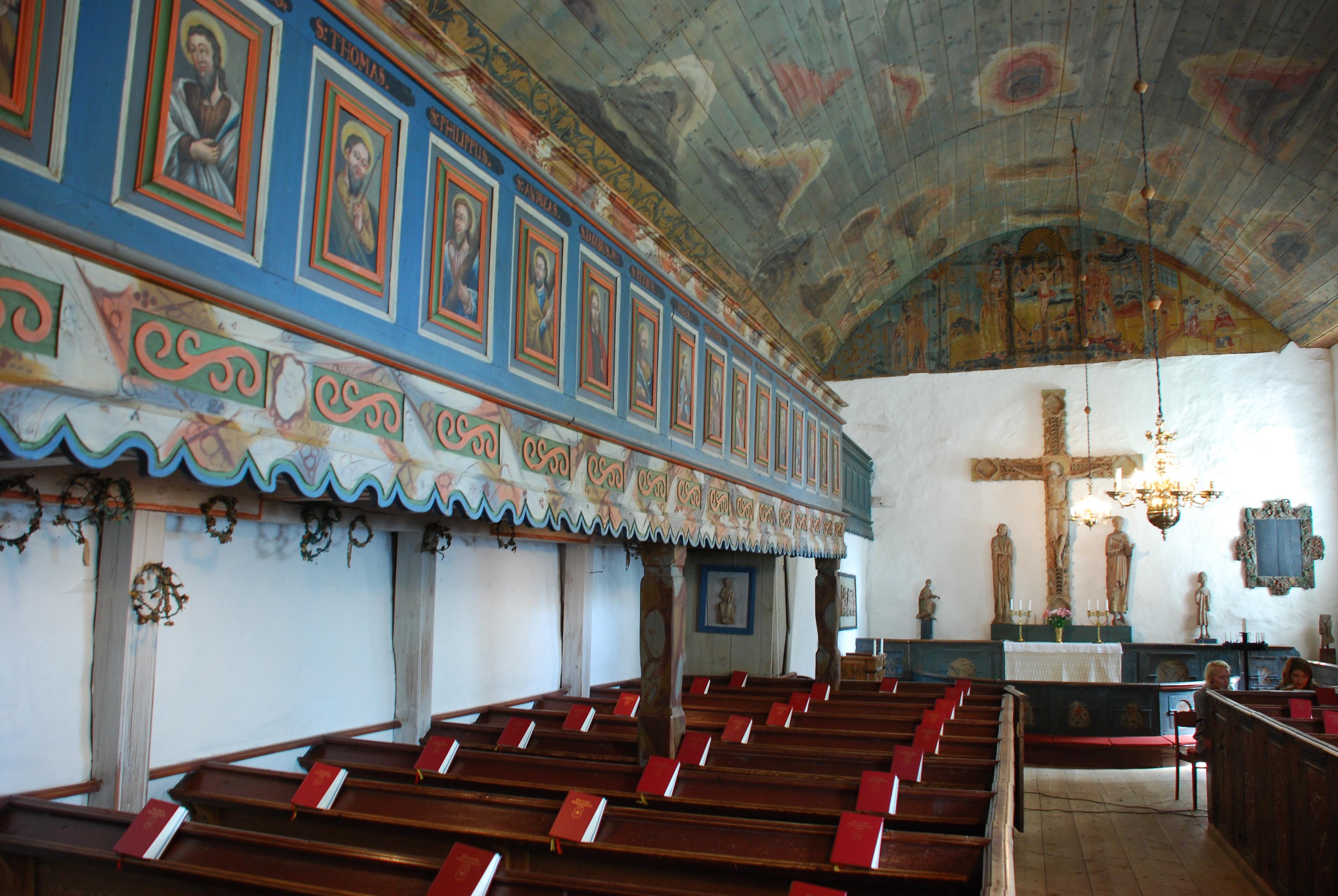 Kyrkorna i Sjss, Uppvidinge hrad, Smland, band II - DiVA
