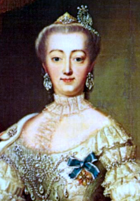 Danish Queen Sophie Magdalene expressed her Pietist sentiment in 1737 by founding a Lutheran convent. Sophie Magdalene, queen of Denmark and Norway.jpg