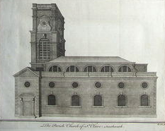 St Olaves Church, Southwark church in London Borough of Southwark, UK