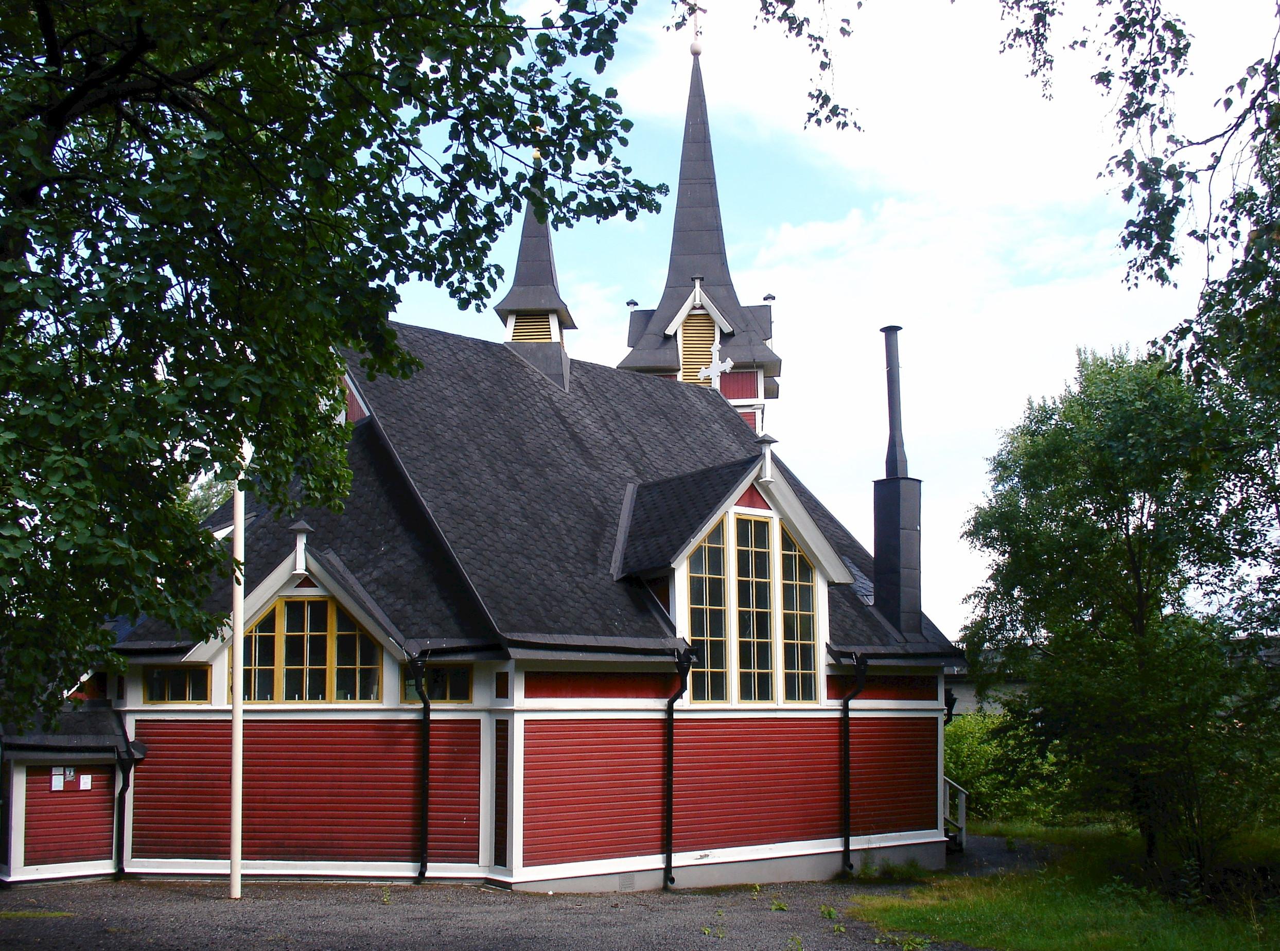 Bild av Sankt Sigfrids kyrka