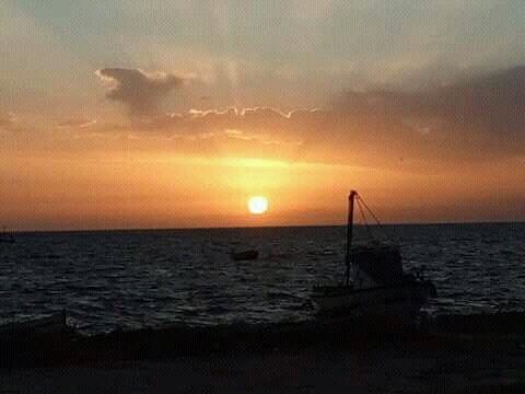 File:Sunset in kerkennah Tunisia.jpg