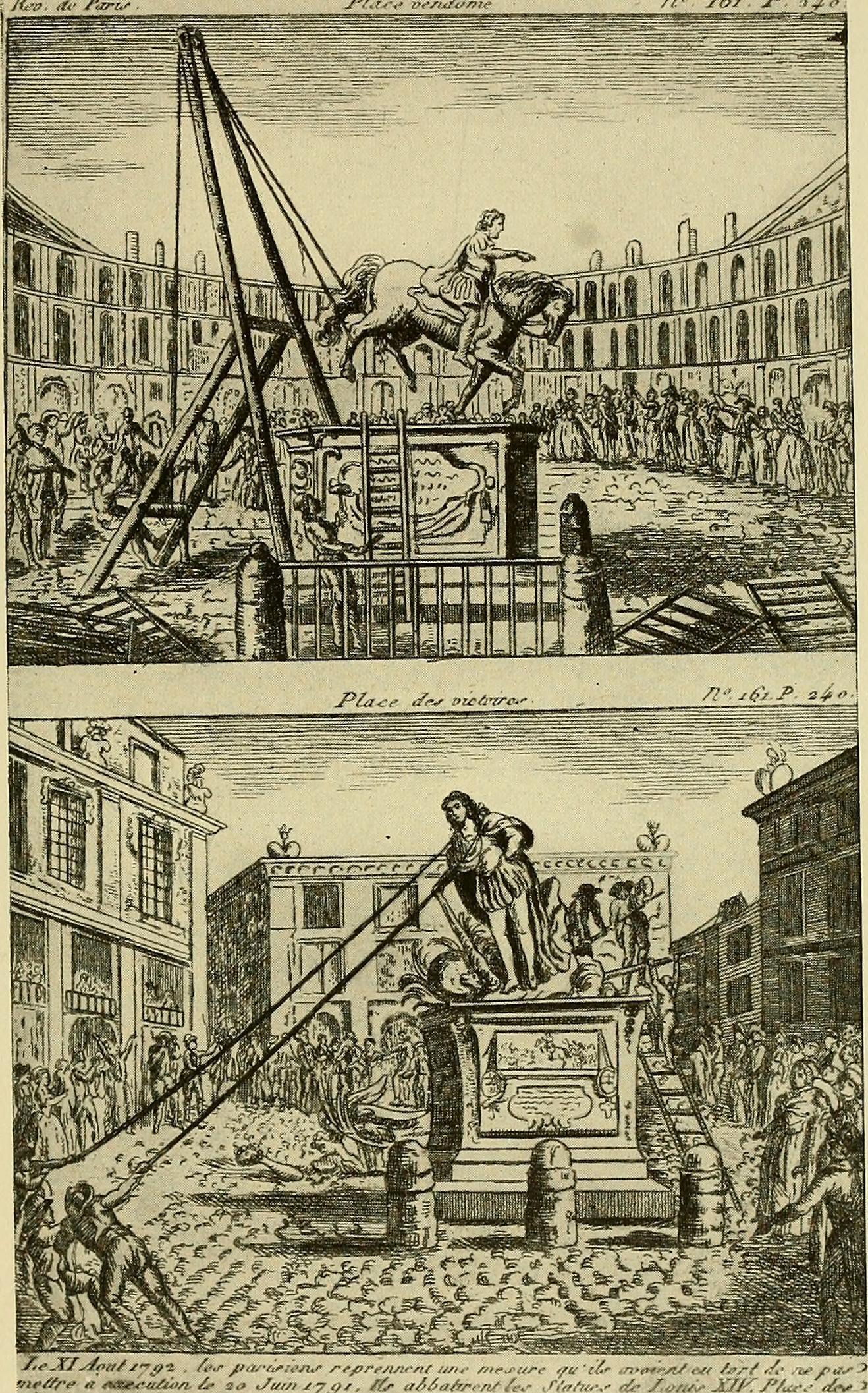 Resultado de imagen de french revolution iconoclasm