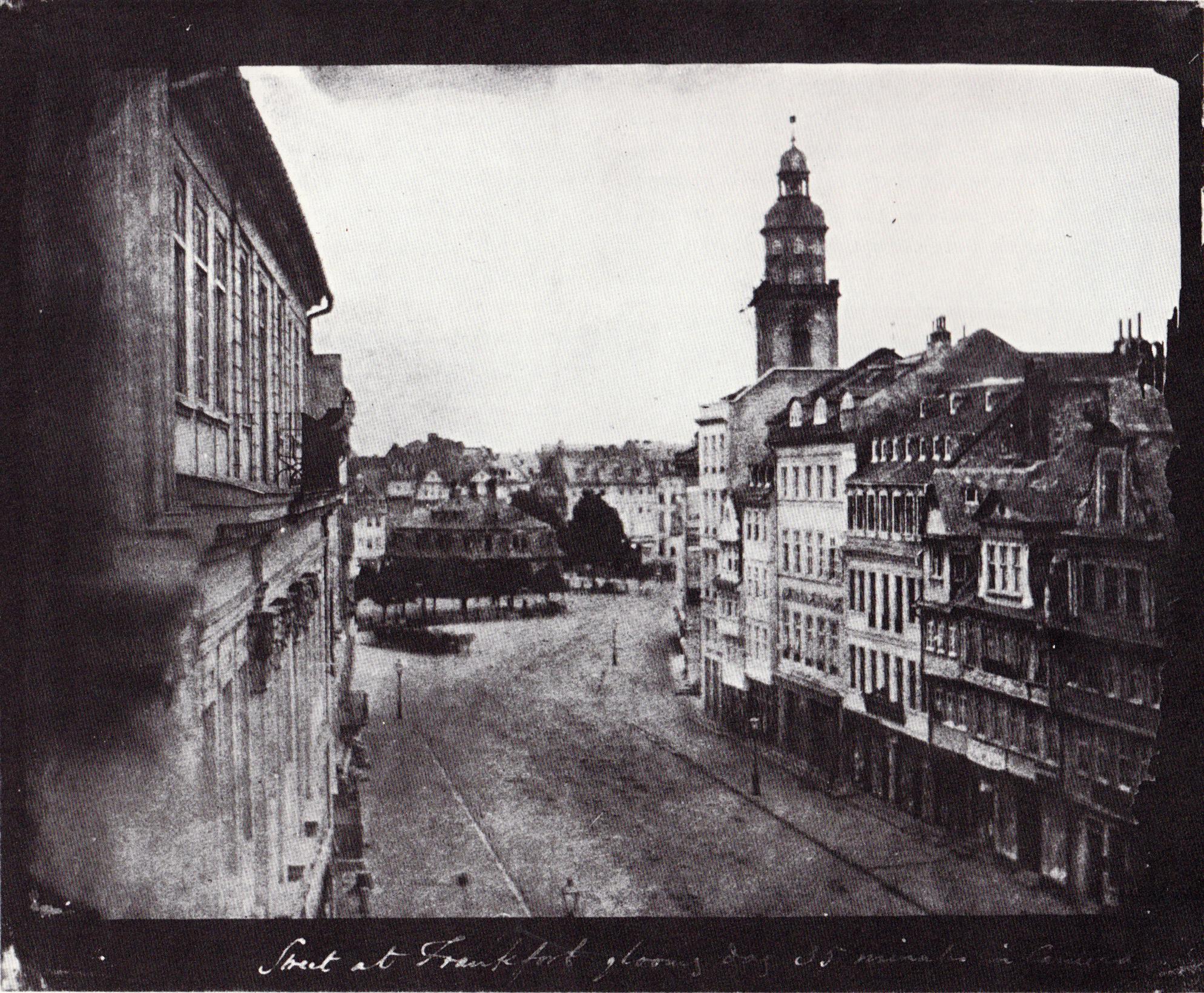 File:Talbot Blick von der Zeil auf die Hauptwache 1846.jpg