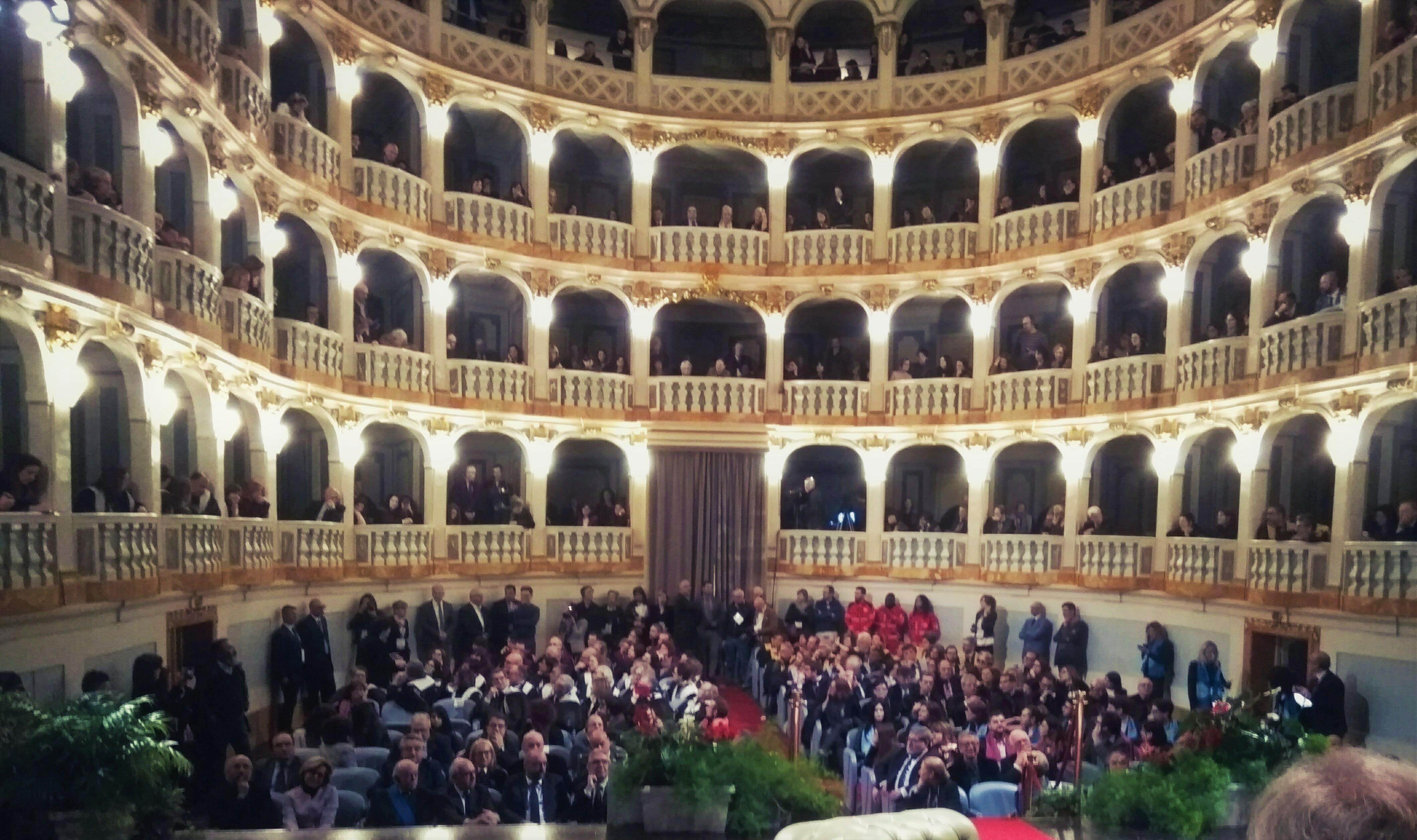 File:Teatro Lauro Rossi, Macerata, Italy. Vista dal palco.jpg ...