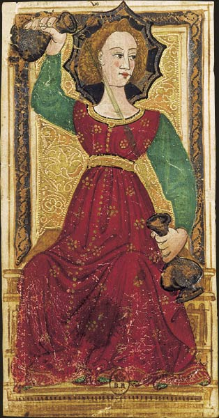 Umiarkowanie, Tarot Karola VI, XVI wiek