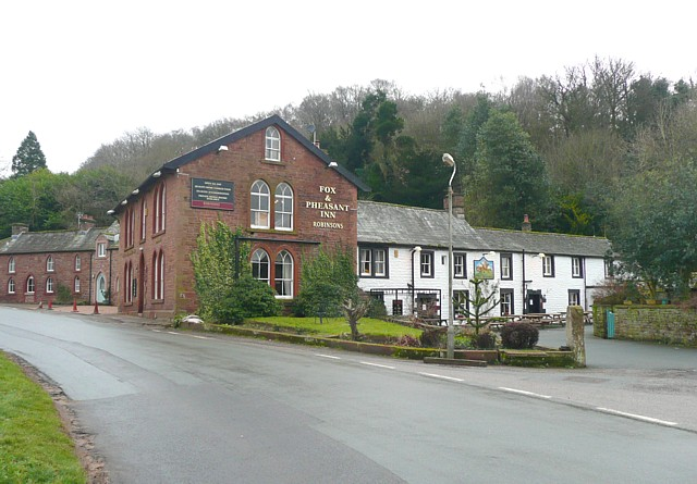 The Fox and Pheasant, Ainstable - geograph.org.uk - 1158482