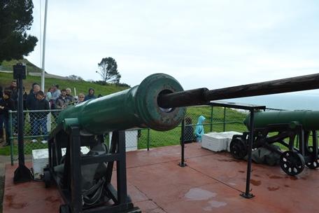 Noon gun at Signal Hill