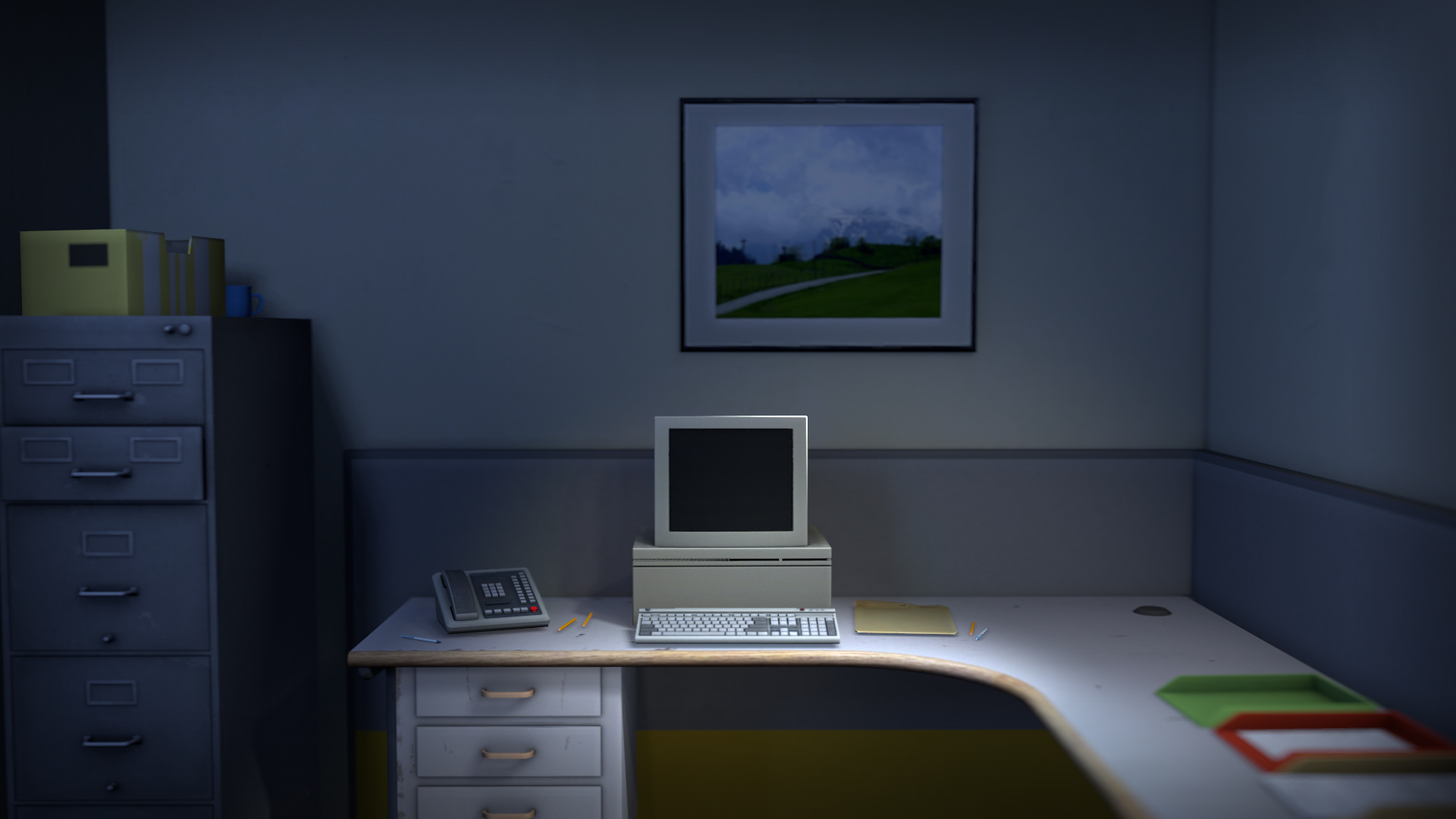 Inicio de The Stanley Parable