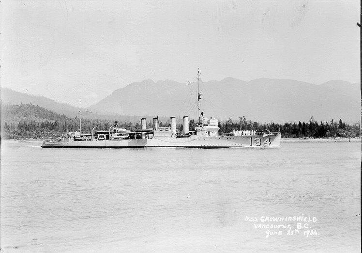 USS Crowninshield (DD-134)