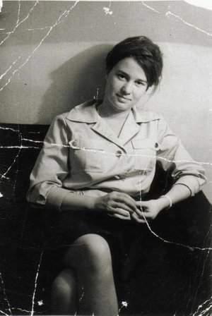 Ulrike Meinhof while still a journalist