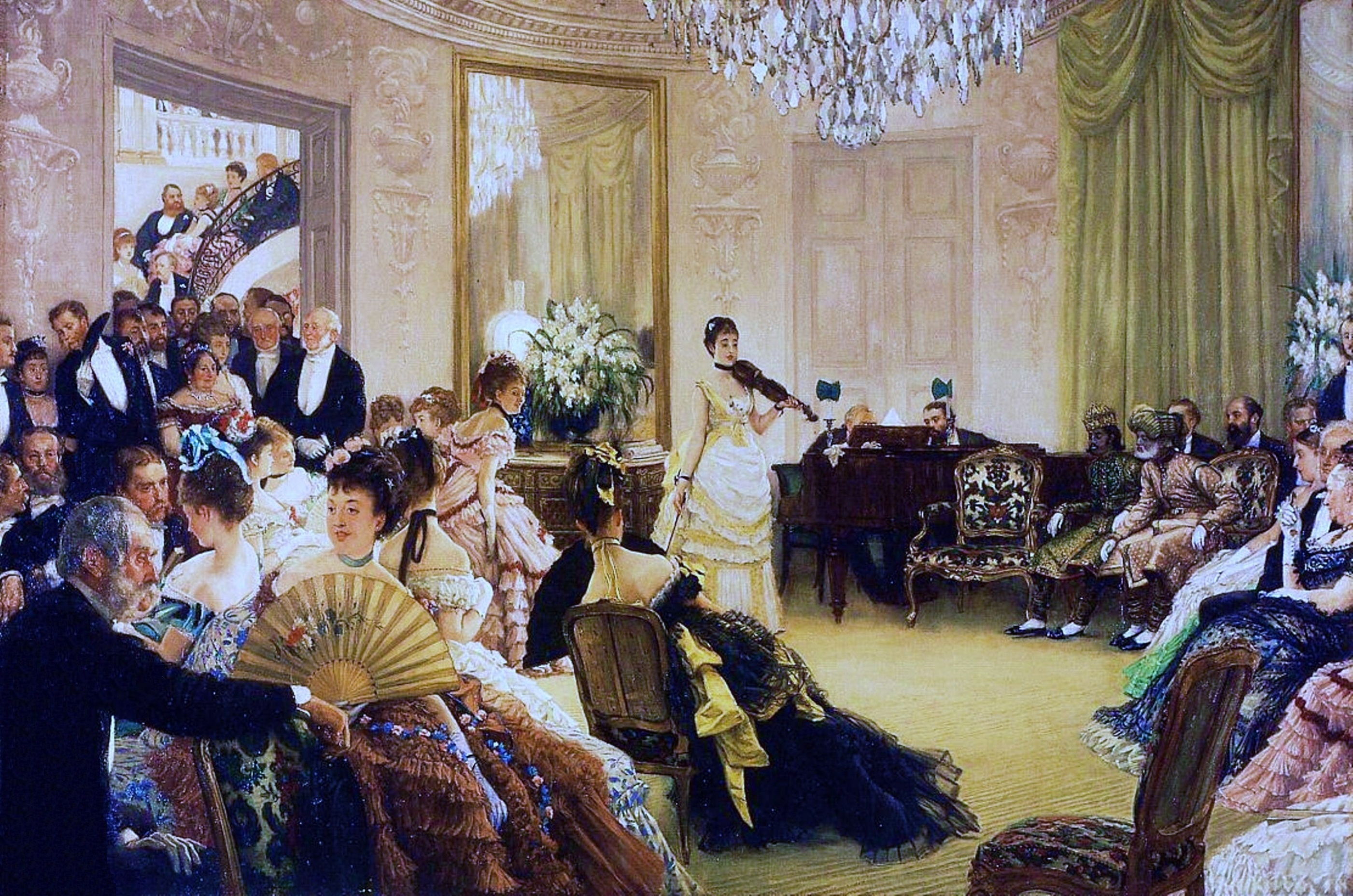 File un salon parisien par james tissot a jpg - Salon parisien ...