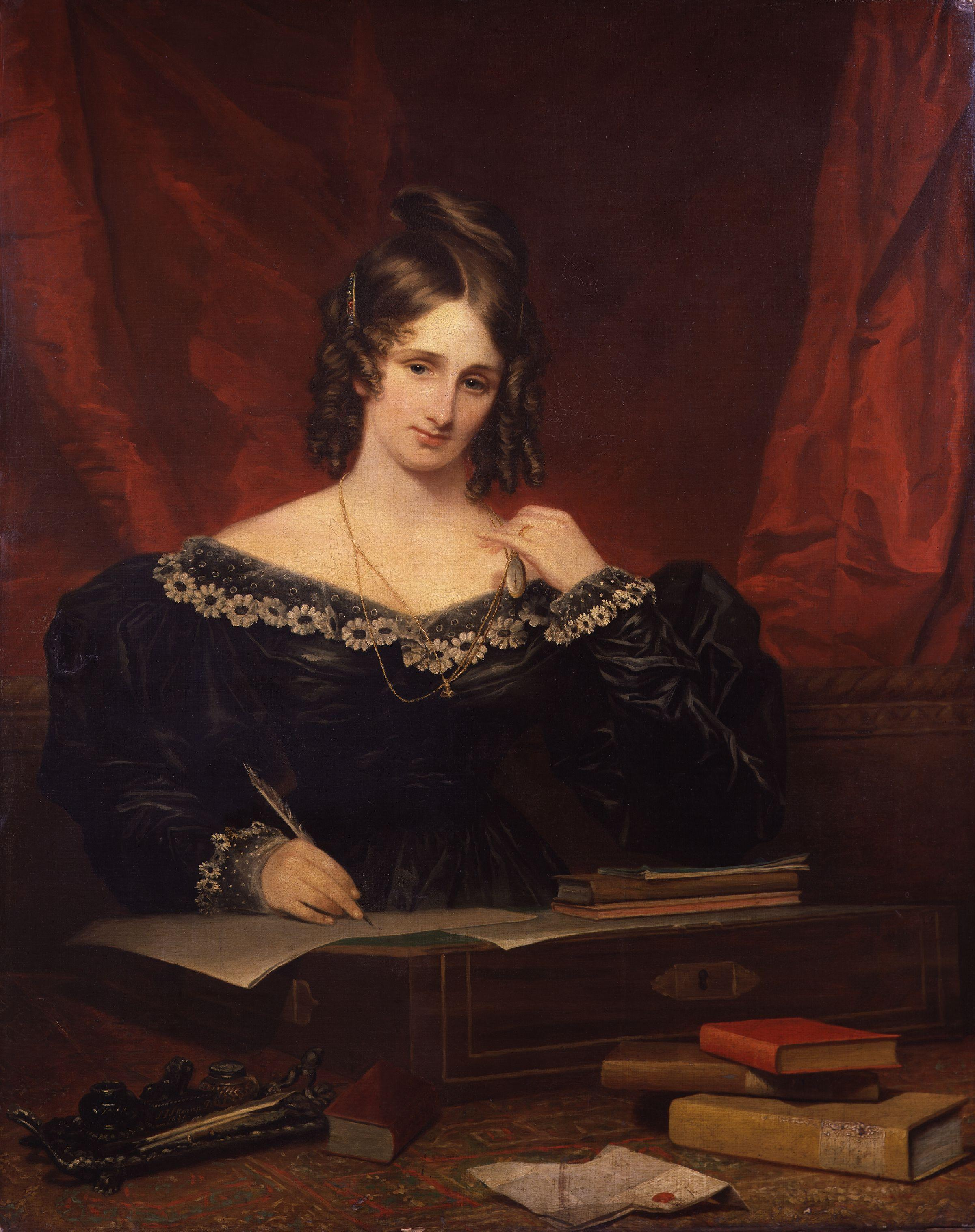 A biography and work of frankenstein by author mary shelley
