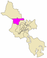 Position in HCMC's metropolitan area