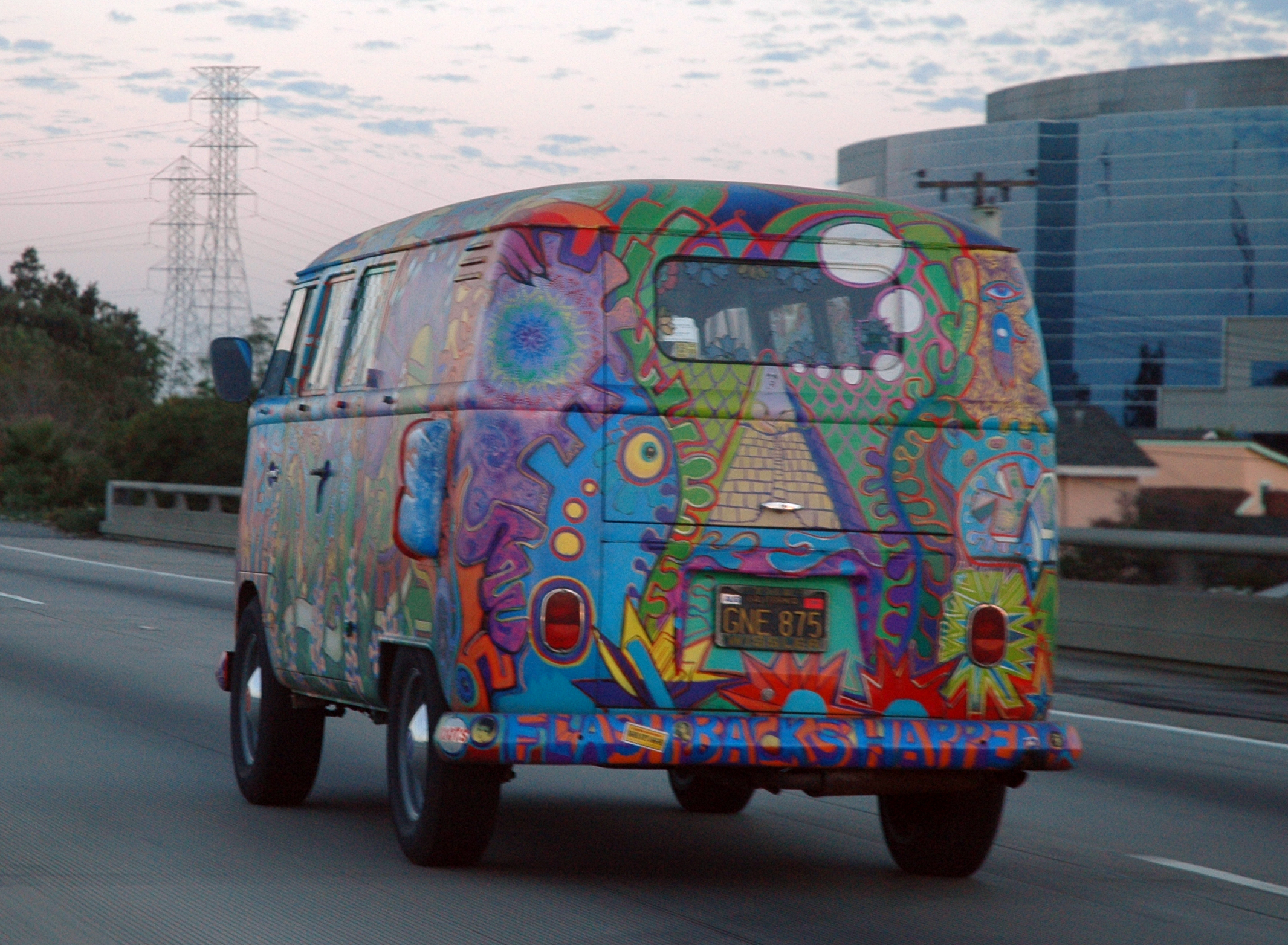Image result for hippie van