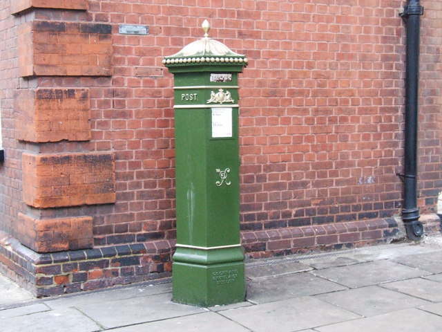 Victorian post box, Rochester - geograph.org.uk - 1164588