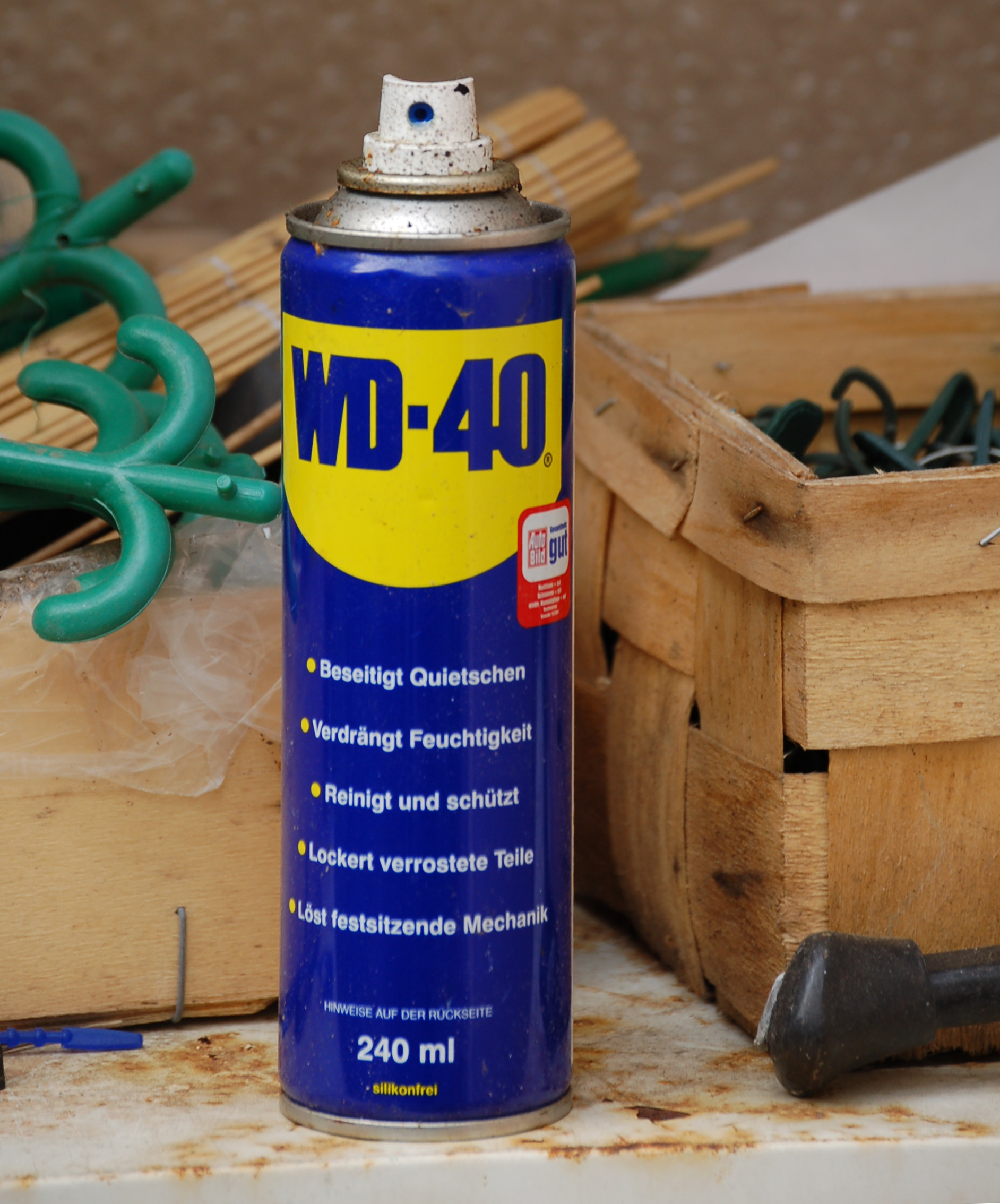 VD-40 - what is it? WD-40 Universal aerosol grease: characteristics, application, manufacturer, reviews 19