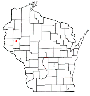 Hay River, Wisconsin Town in Wisconsin, United States