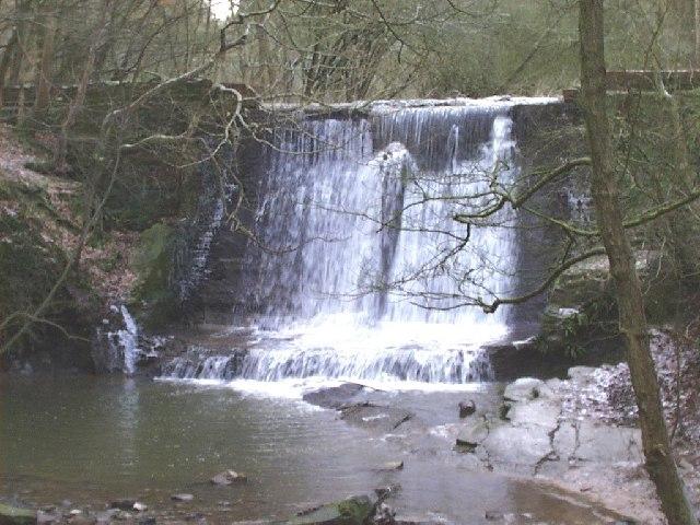 Weir - Wepre Park - geograph.org.uk - 27845