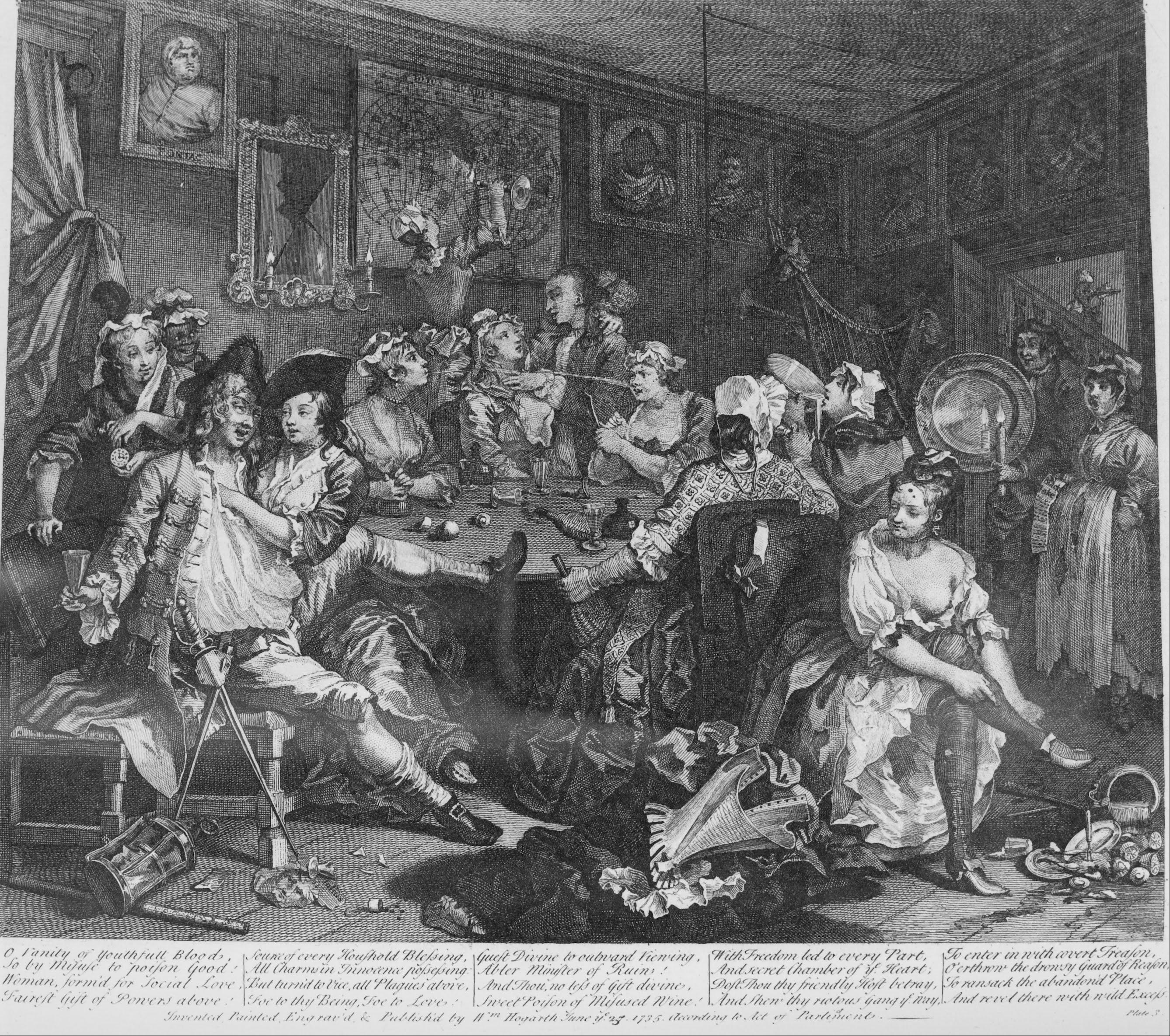 18th century orgy - 2 3