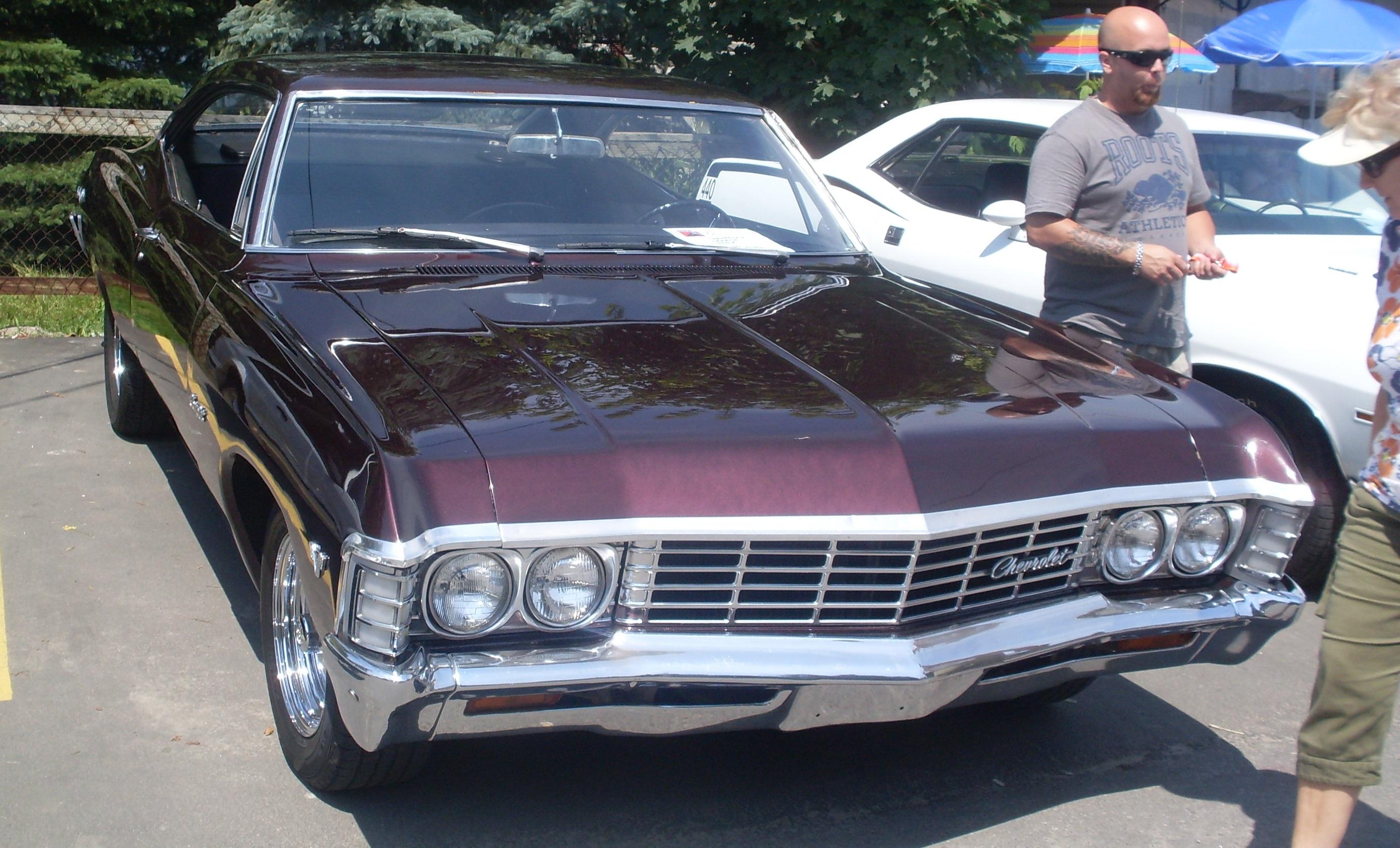 file 39 67 chevrolet impala coupe auto classique hudson 39 13 jpg wikimedia commons. Black Bedroom Furniture Sets. Home Design Ideas