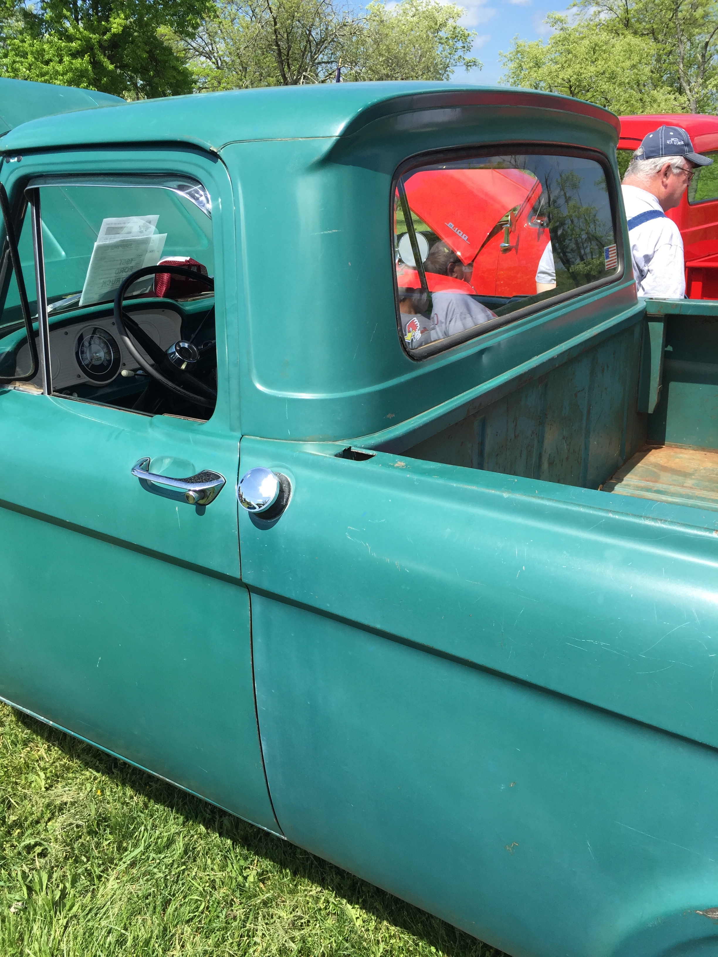 File1961 Ford F100 Unibody Pickup Design Factory Original At 2015 1961 Short Bed Shenandoah Aaca Meet 2of6