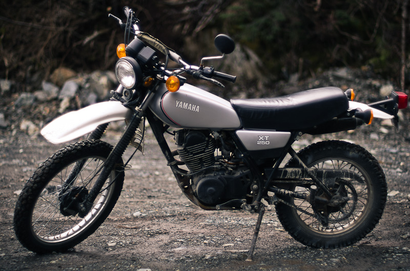 Honda Dirt Bike Black