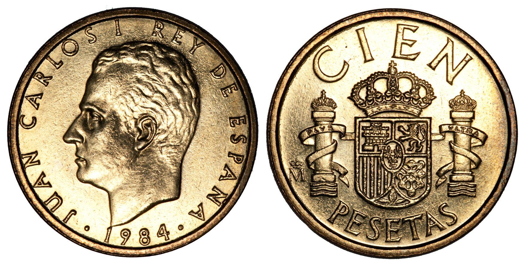 Cien pesetas стоимость 10 копеек 1994 года украина цена