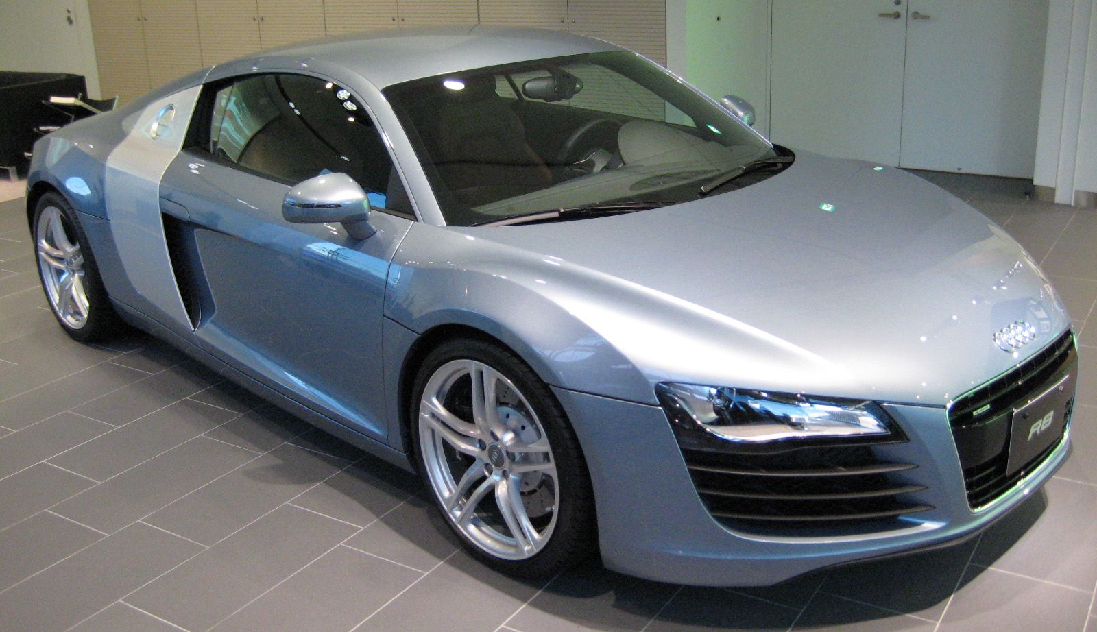 File2007 Audi R8 01JPG  Wikimedia Commons