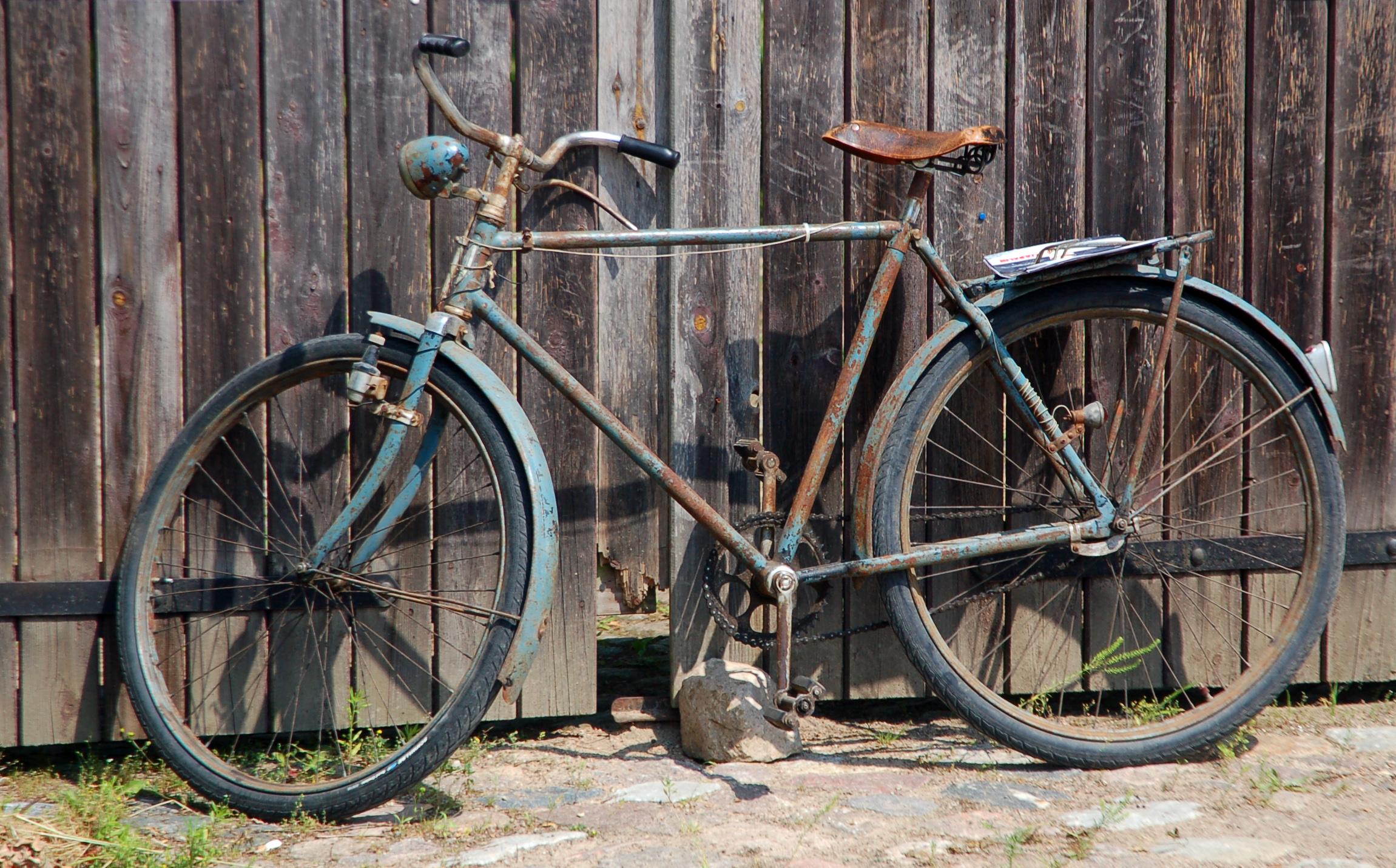 Fahrrad als Beispeil für andere Stoffe in der Chemie