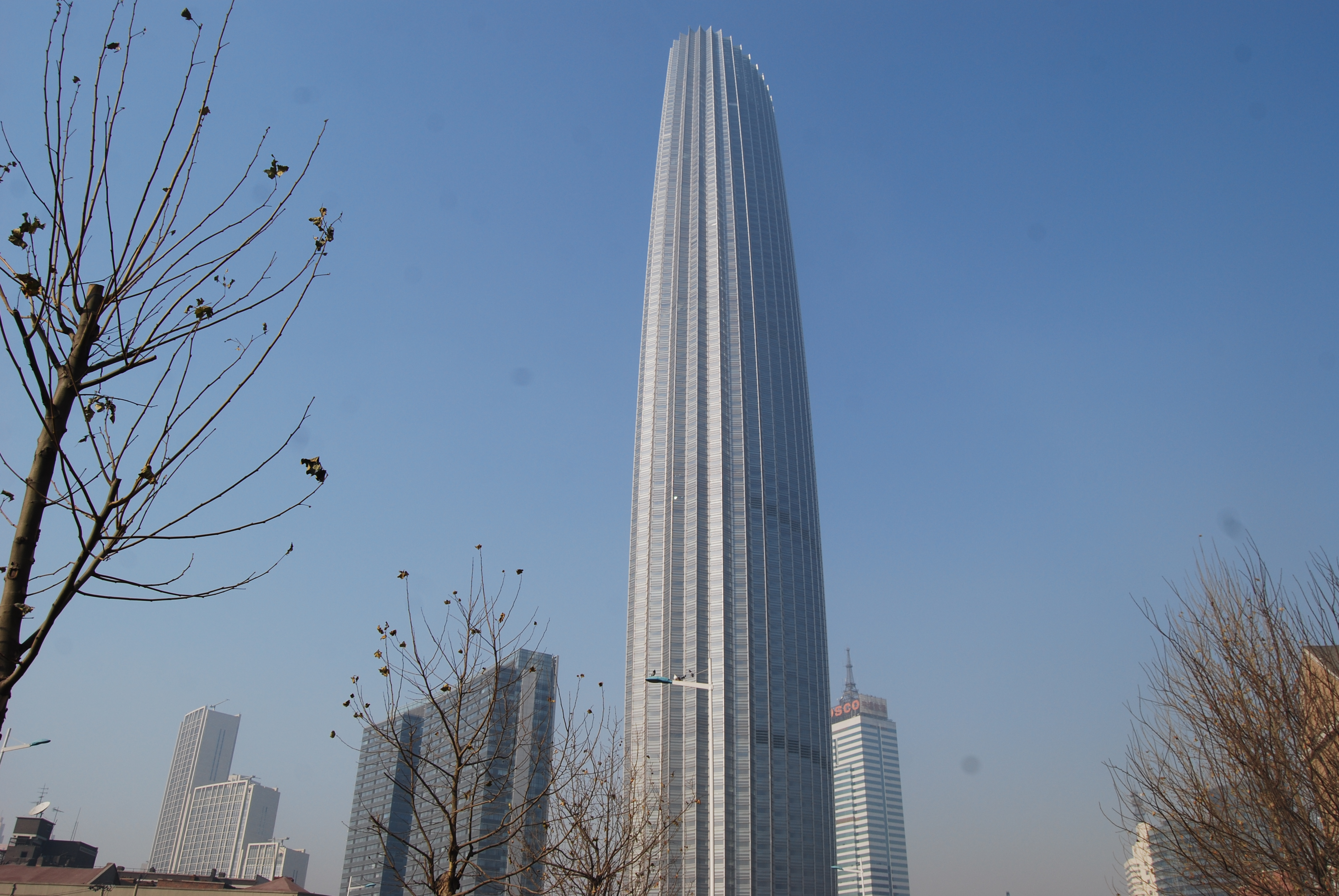 Depiction of Tianjin World Financial Center