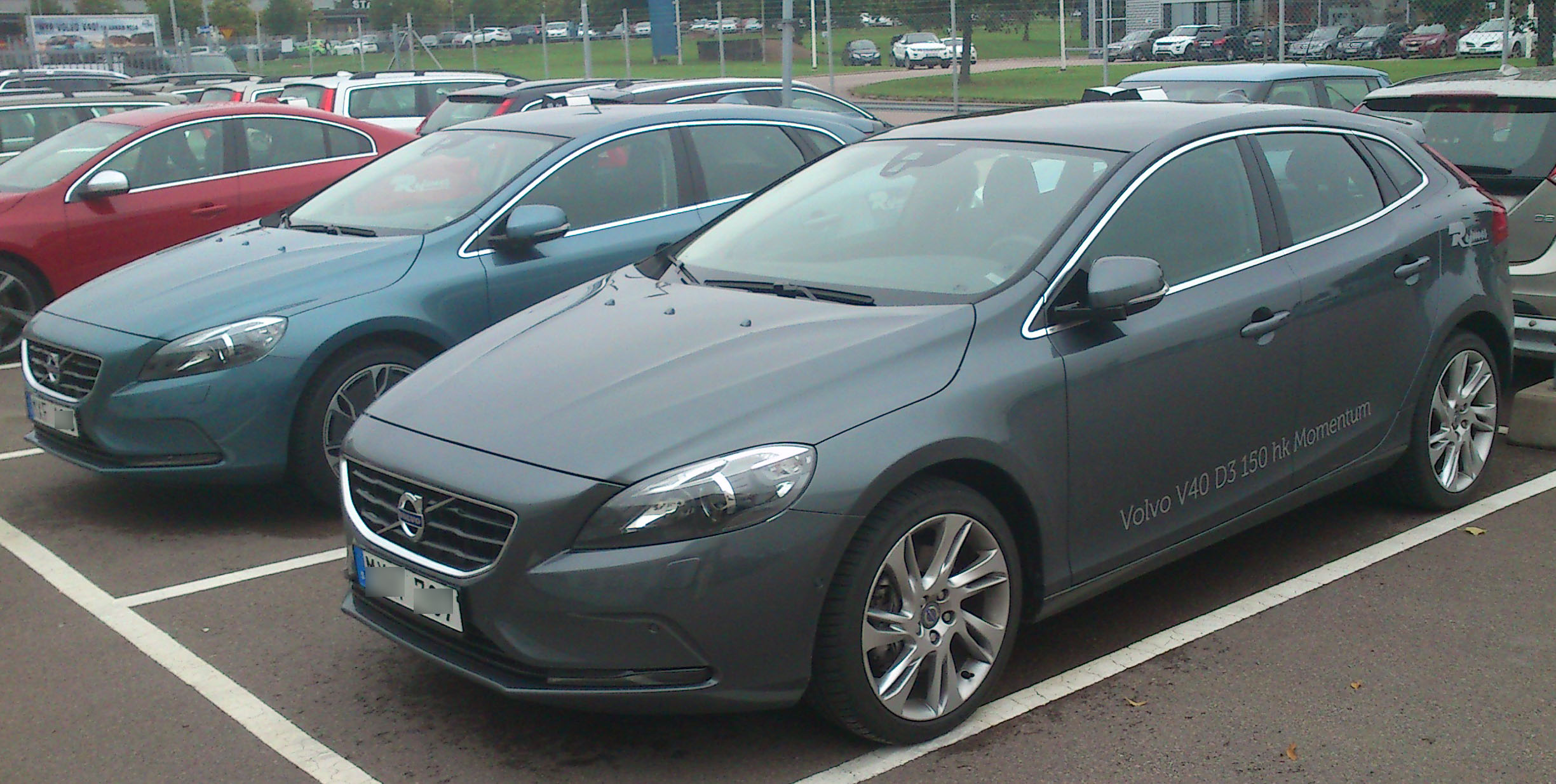 File 2012 Volvo V40 Fl Jpg Wikimedia Commons