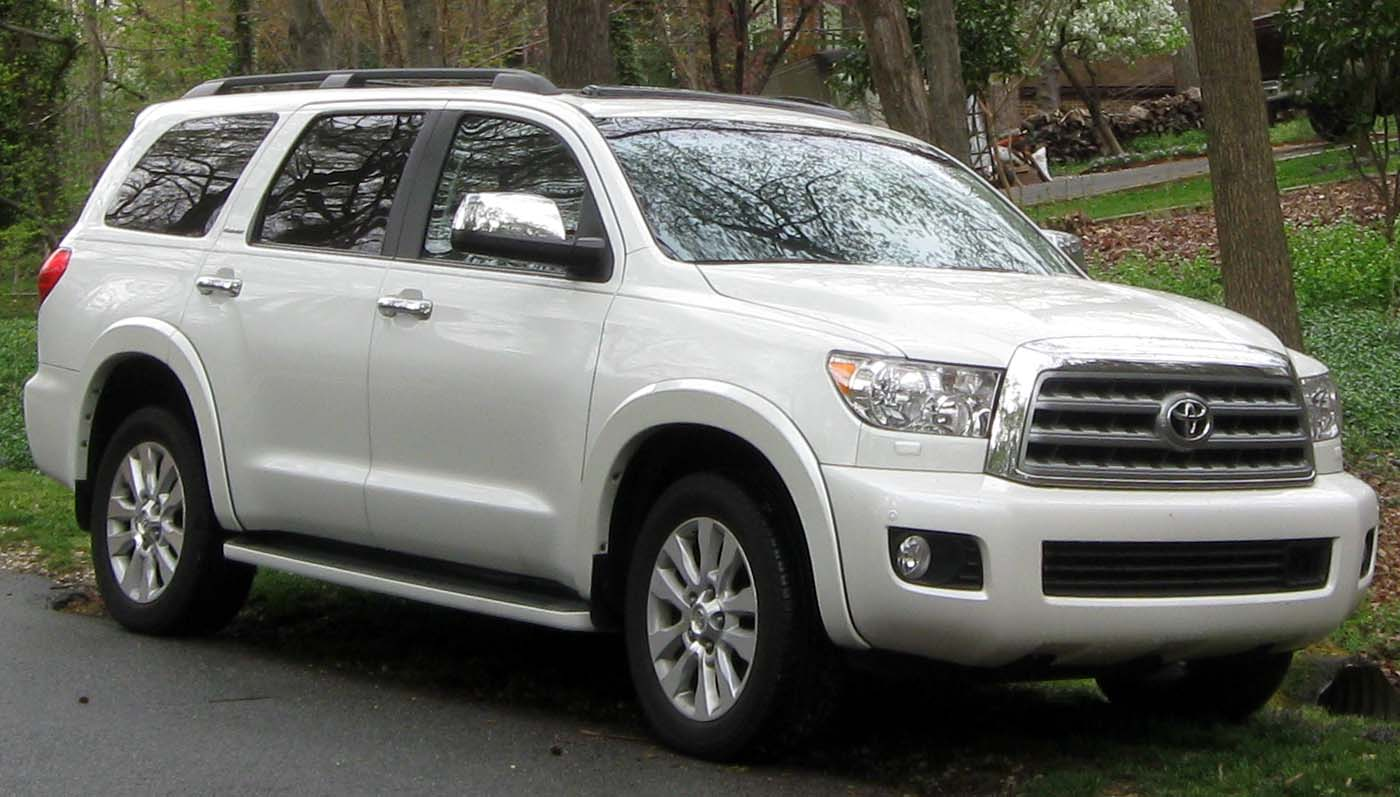 file 2nd toyota sequoia 03 30 2012 jpg wikimedia commons. Black Bedroom Furniture Sets. Home Design Ideas