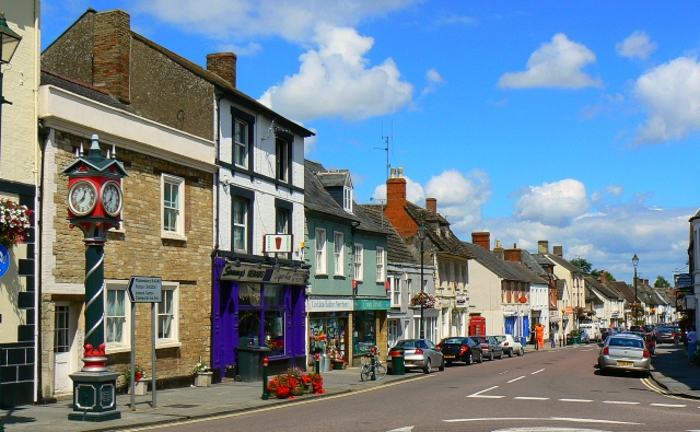 A view along Cricklade High Street - geograph.org.uk - 503889