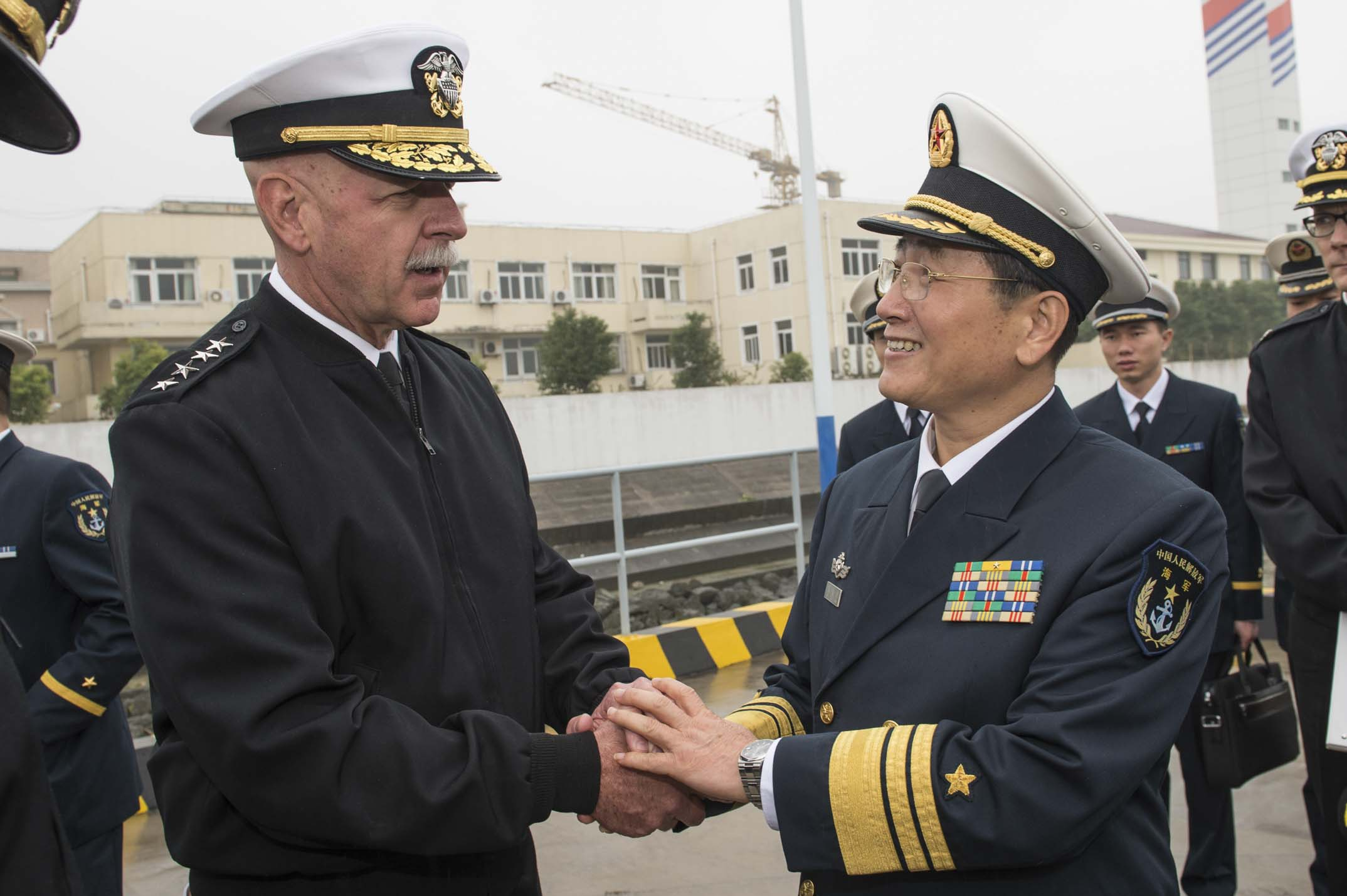 file adm scott h swift commander u s pacific fleet greets vice
