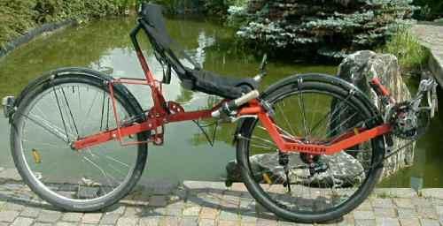 Zweirad mit Frontantrieb Airbike