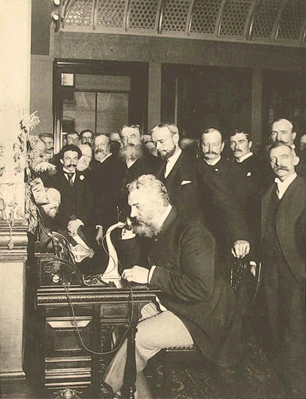 Alexander Graham Telephone in Newyork