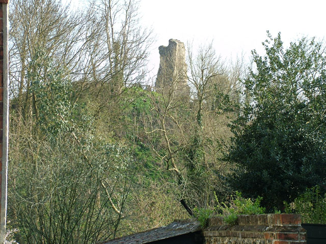All that remains of Clare Castle - geograph.org.uk - 390324