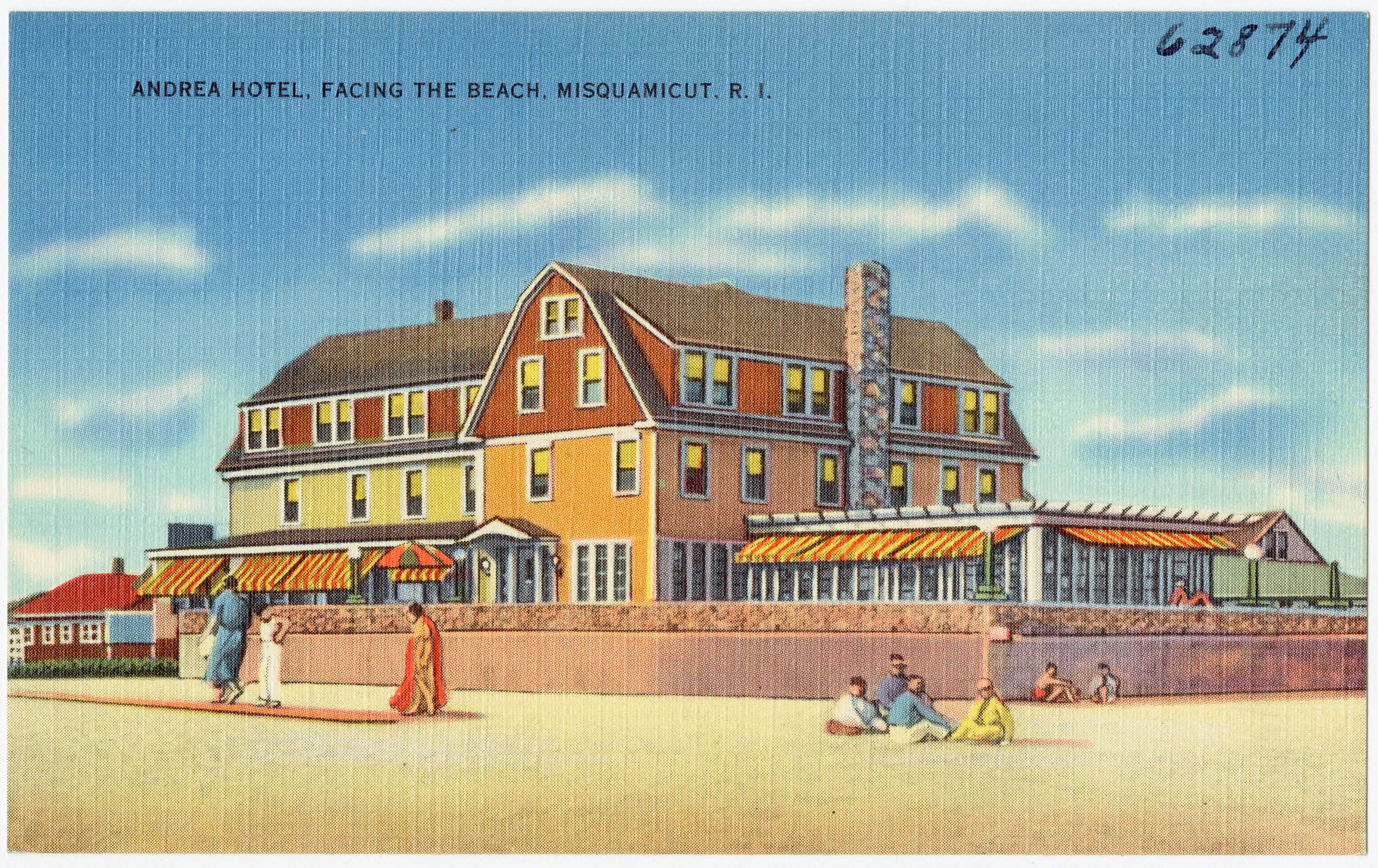 File Andrea Hotel Facing The Beach Misquamicut R I 62874