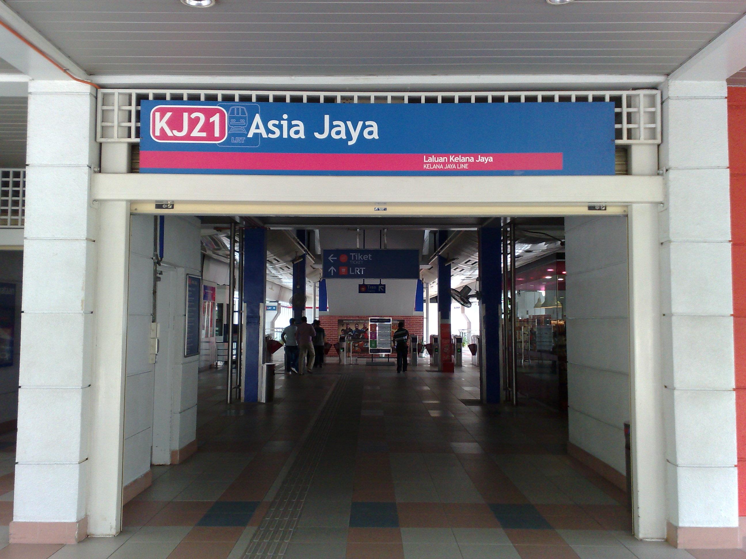 Fileasia Jaya Lrt Entrance Jpg