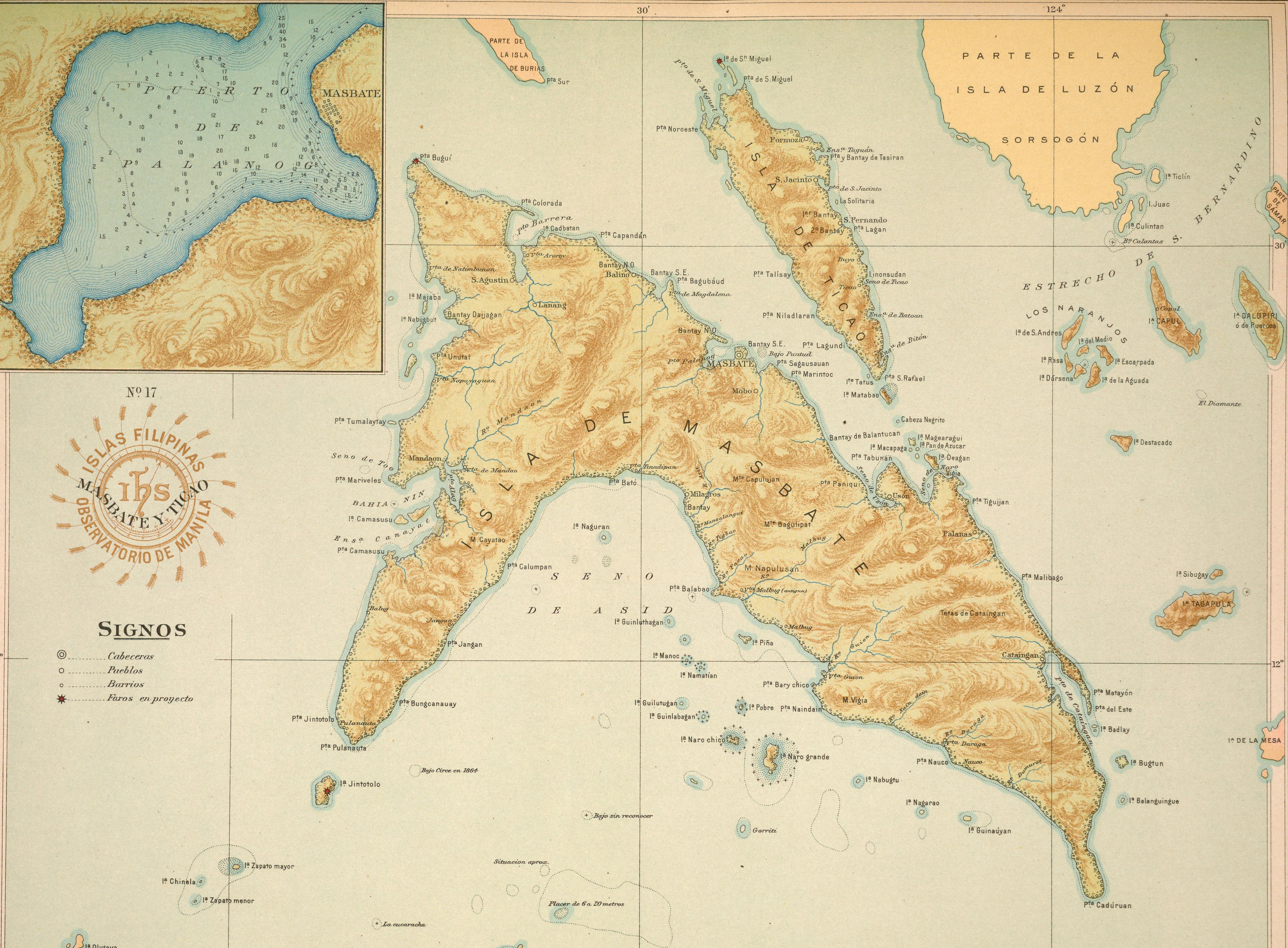 Masbate, illa