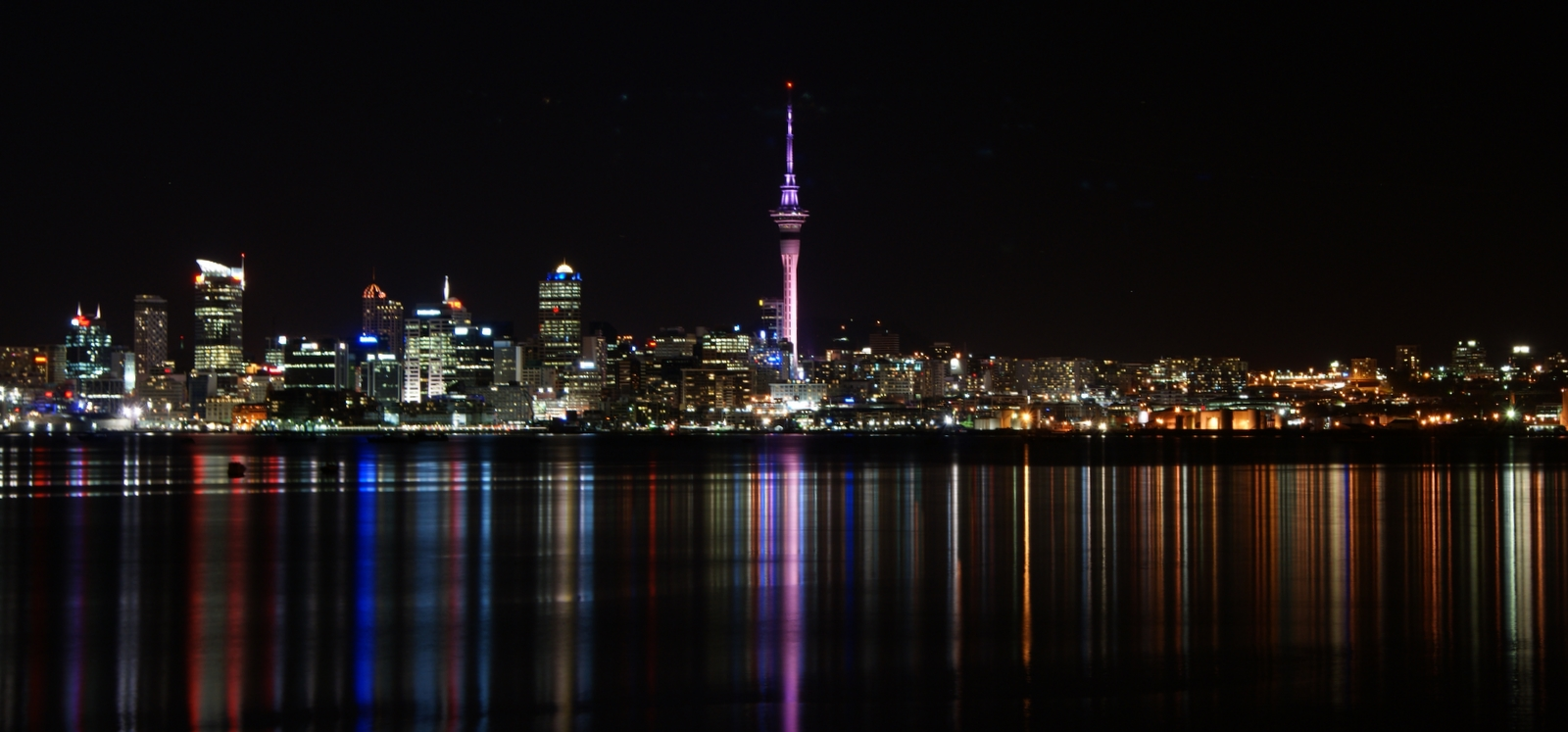 Image result for auckland city at night