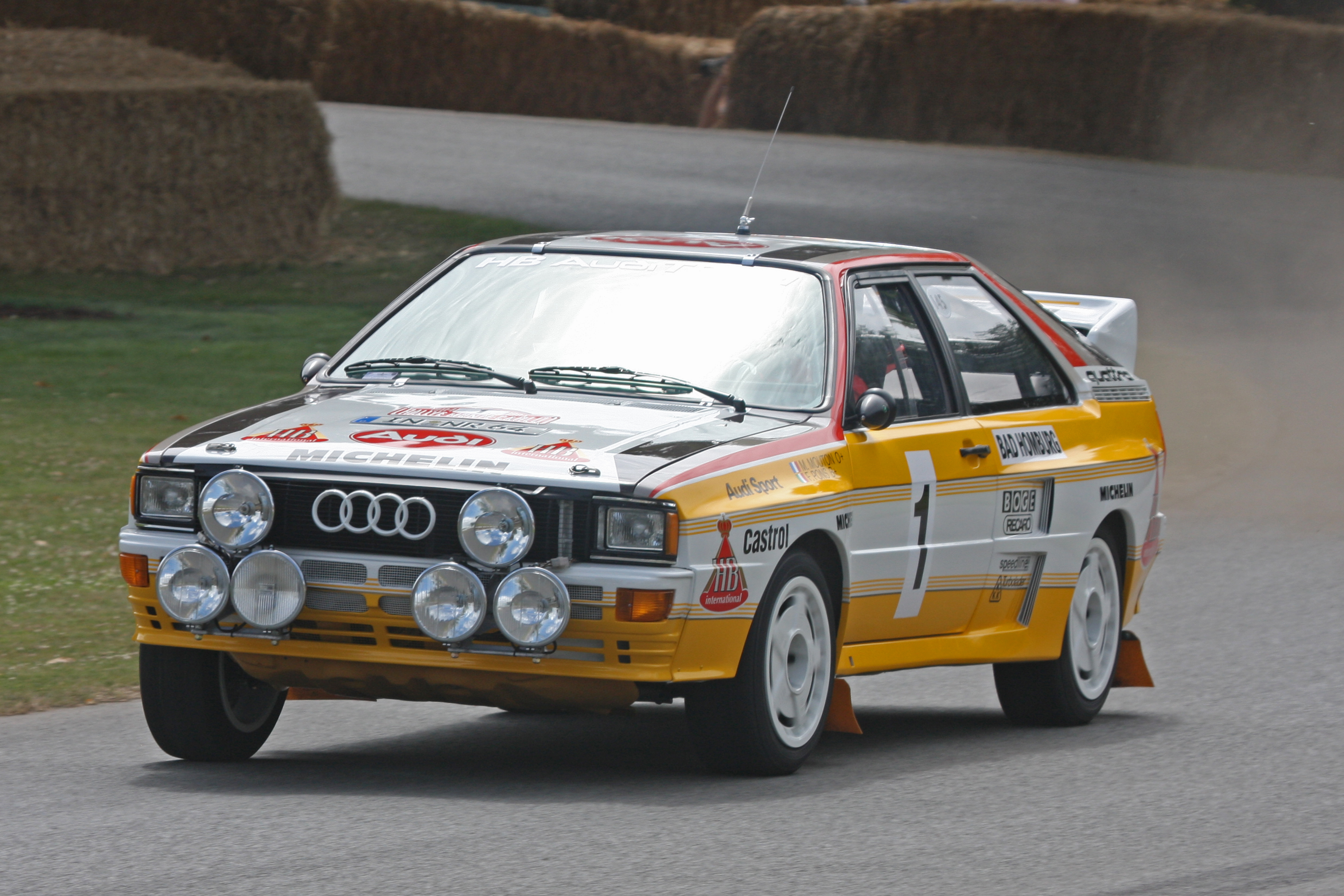 motorsports monday 1985 audi quattro rally car german. Black Bedroom Furniture Sets. Home Design Ideas