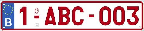 File:Autokenteken Belgie rood op wit nr1-ABC-003.jpg - Wikimedia ...