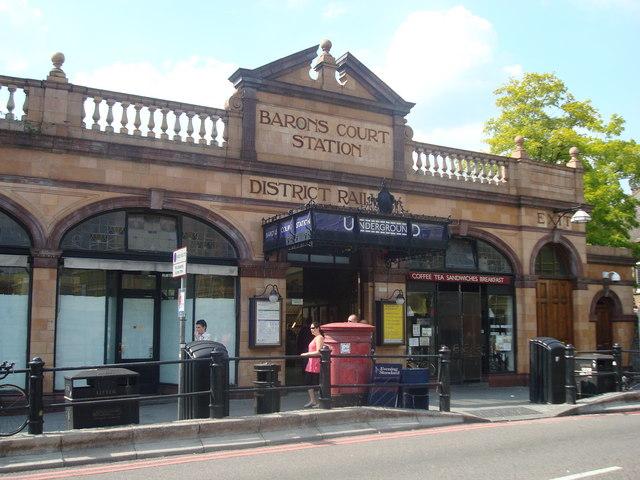 Barons Court Underground Station - geograph.org.uk - 1433752
