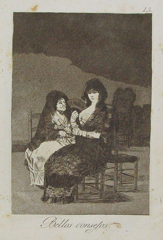 Los caprichos de Goya Bellos_consejos