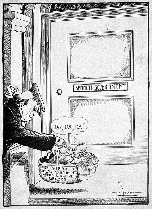 Canada in the great depression essay