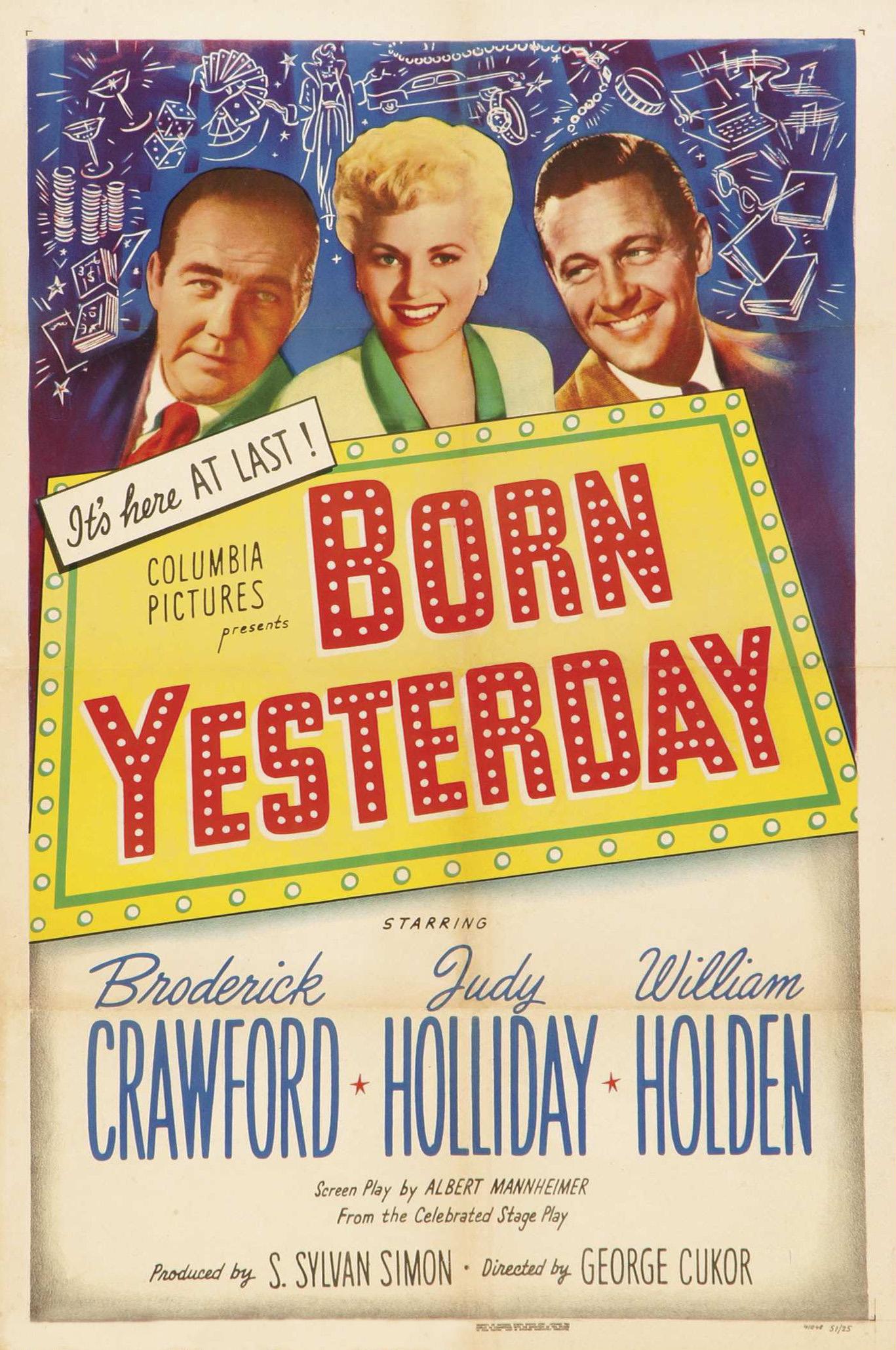 Born Yesterday (1950 film) - Wikipedia