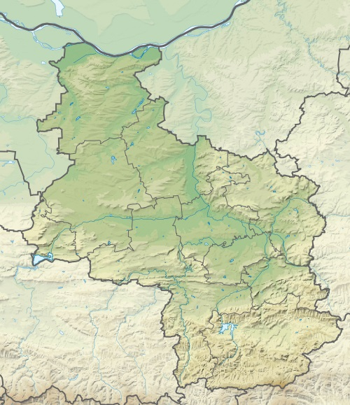 Файл:Bulgaria Veliko Tarnovo Province relief location map.jpg