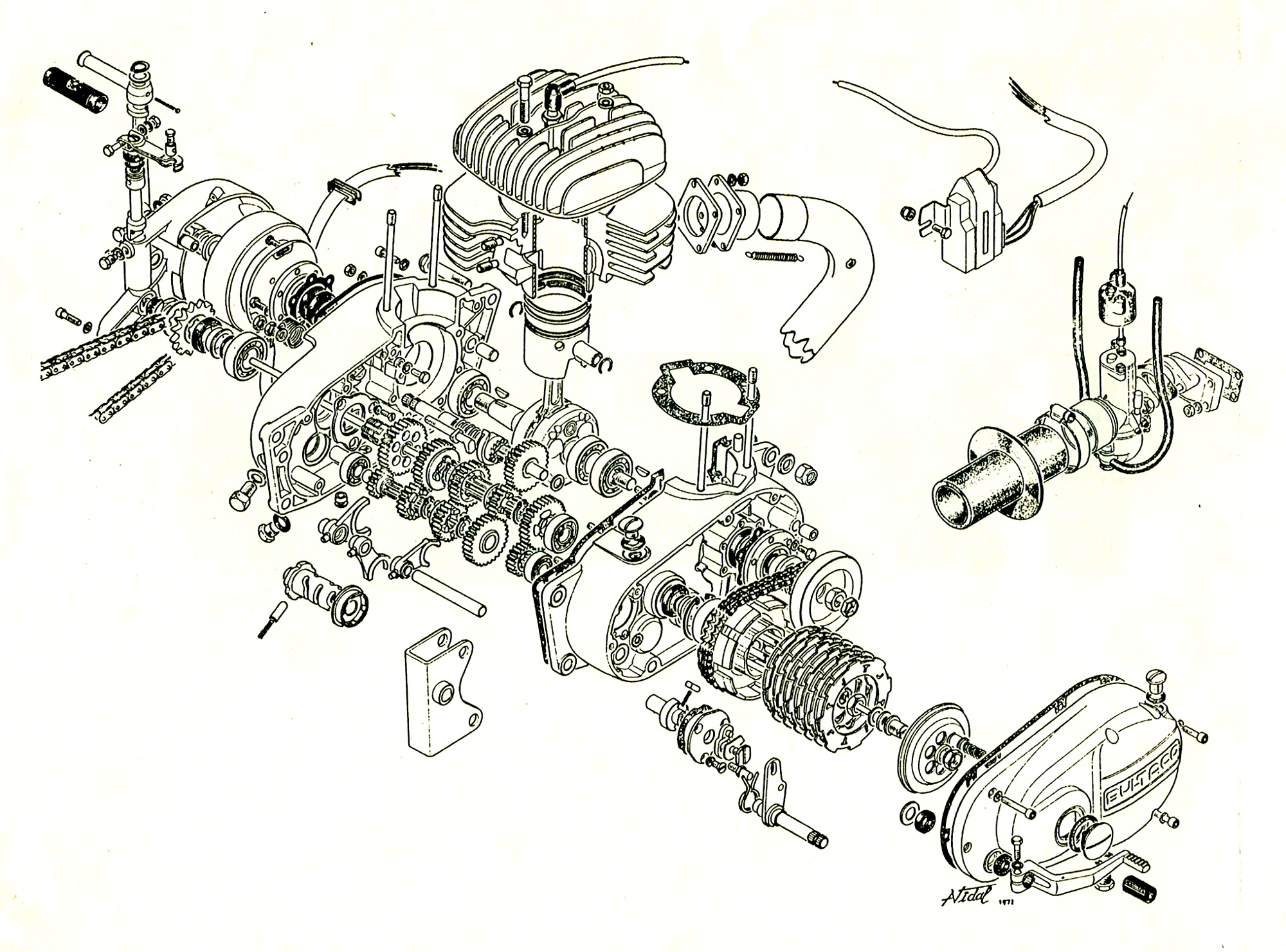 engine exploded view  engine  free engine image for user